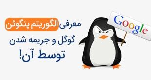 معرفی الگوریتم پنگوئن گوگل و جریمه شدن توسط آن!