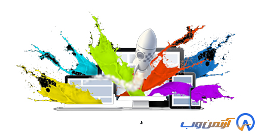 گرافیک سایت فروشگاهی