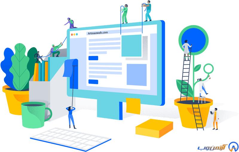 شرکت طراحی سایت در اهواز